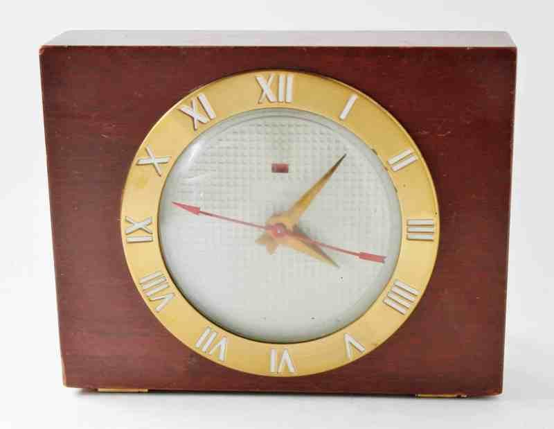 vintage 1920's telechron alarm clock