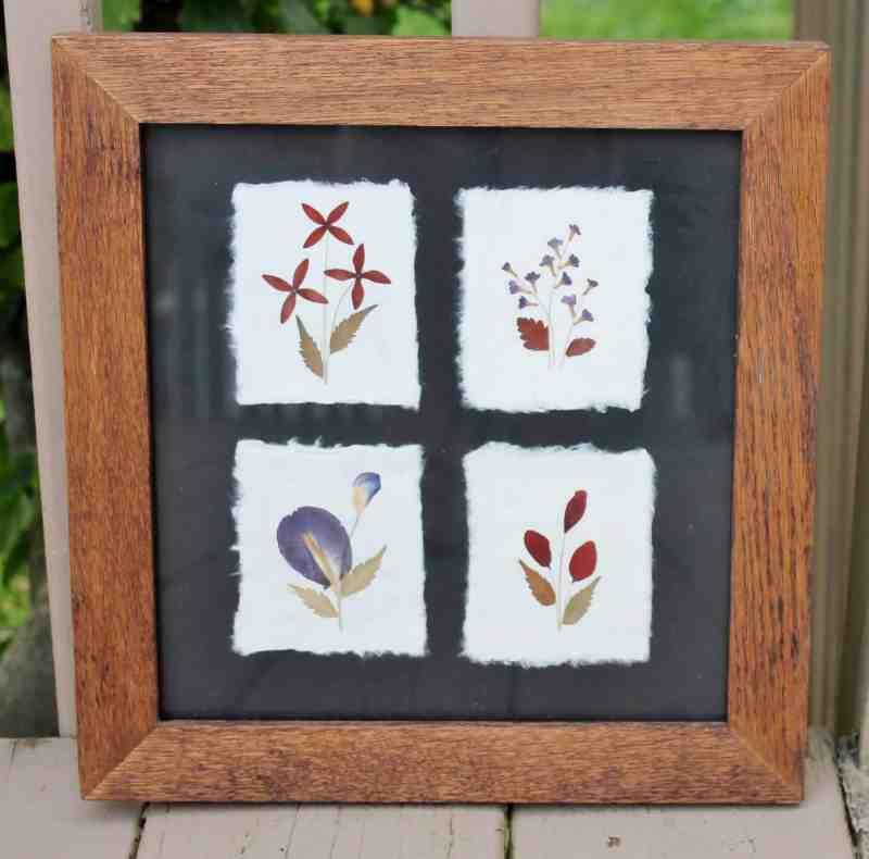 vintage oak frame