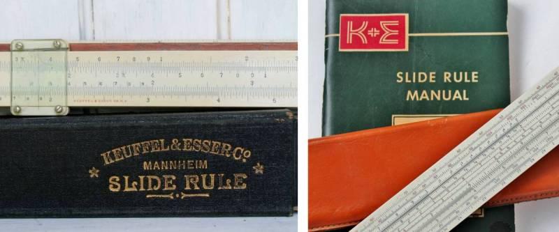 Vintage K & E Slide Rules