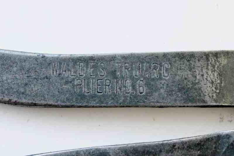 waldes truarc pliers no 6 mark