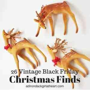 26 Vintage Black Friday Christmas Finds