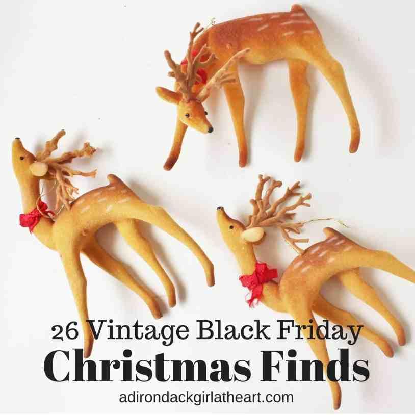 26 Vintage Black Friday Christmas Finds adirondackgirlatheart.com
