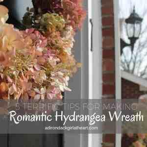 5 Terrific Tips for Making a Romantic Hydrangea Wreath
