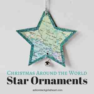 Christmas Around the World Star Ornaments