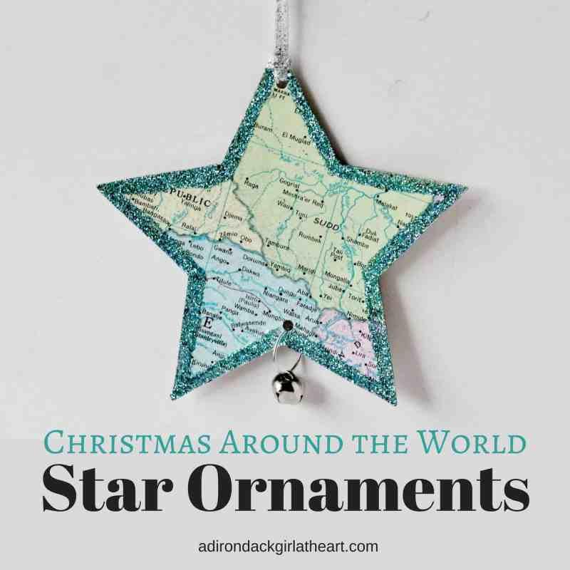 Christmas around the world star ornaments adirondackgirlatheart.com