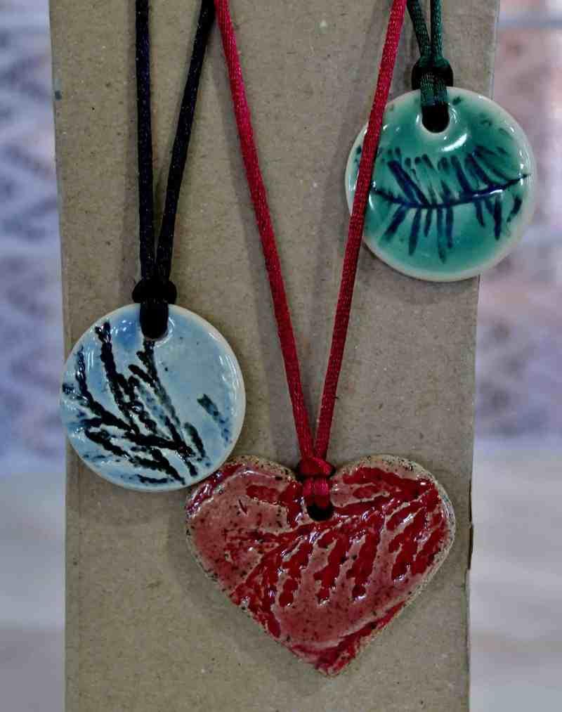 pottery pendants