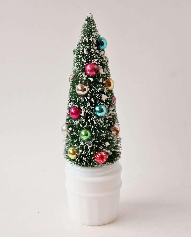 bottle brush tree