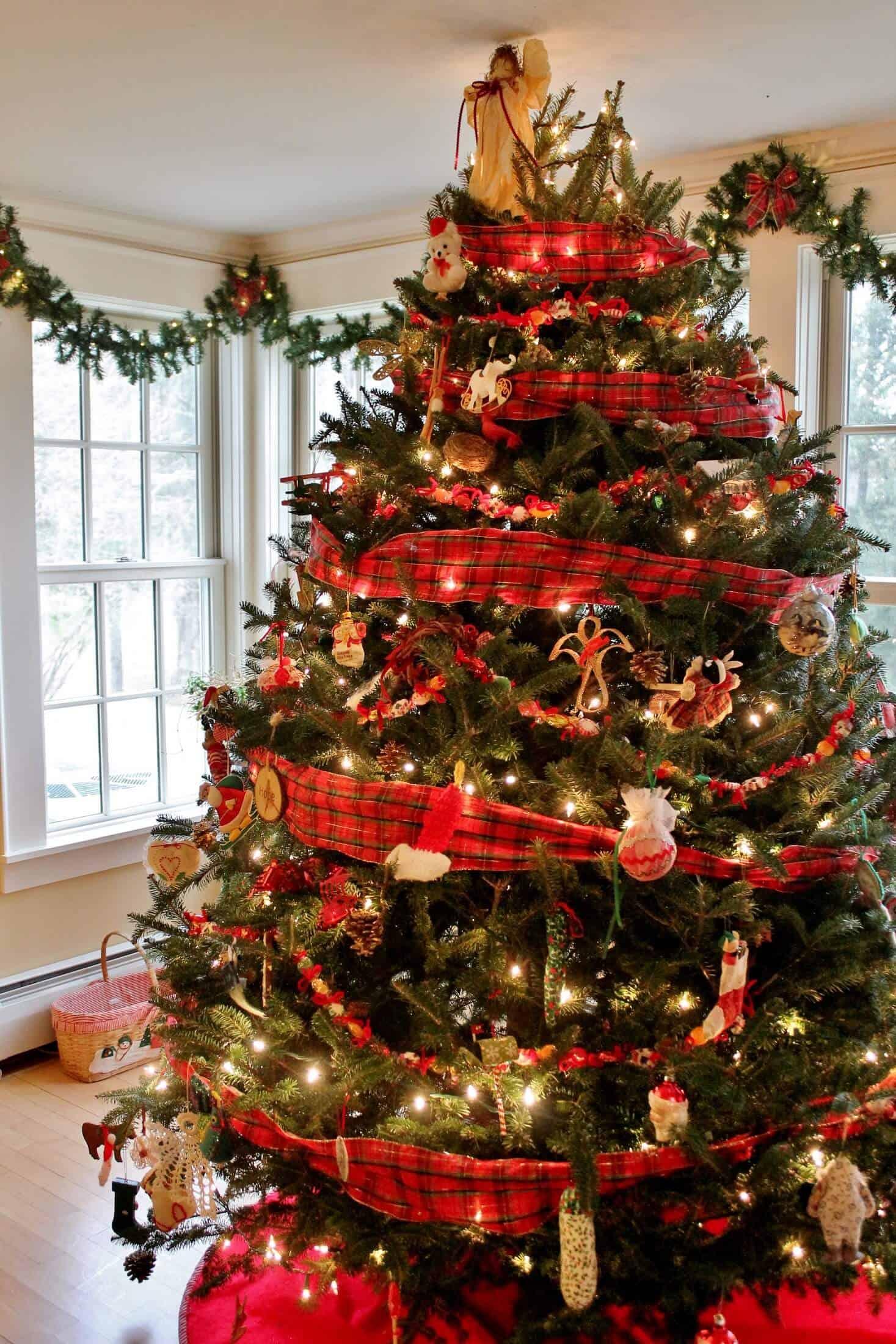 christmas tree at west mountain inn