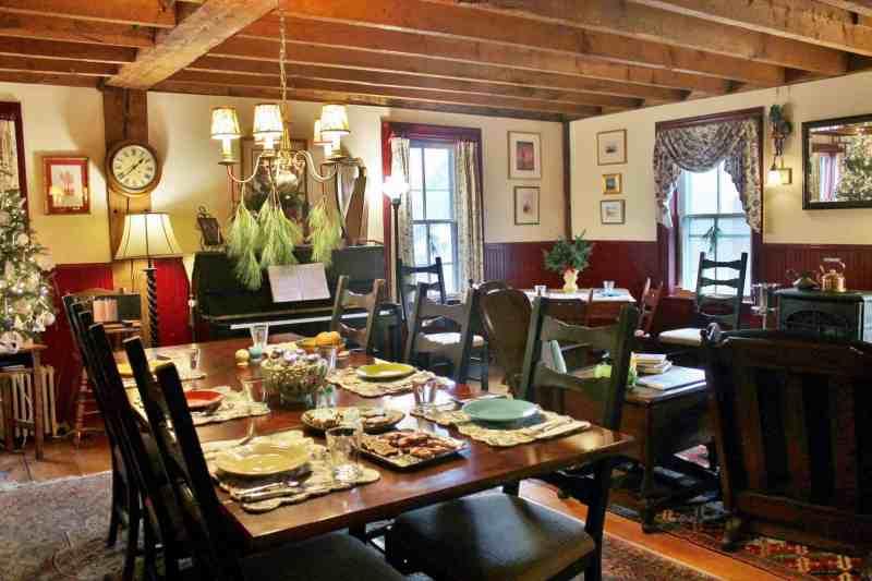 dining room ira allen house