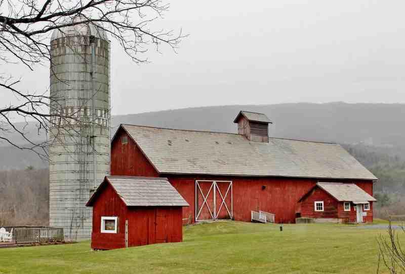 Hill farm Inn red barn