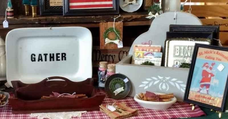 shaker craft fair display