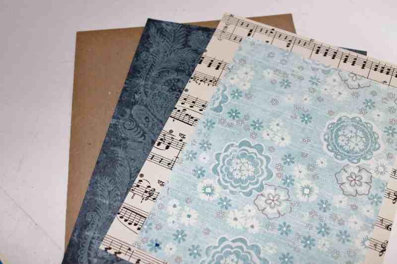 vintage and scrapbook paper