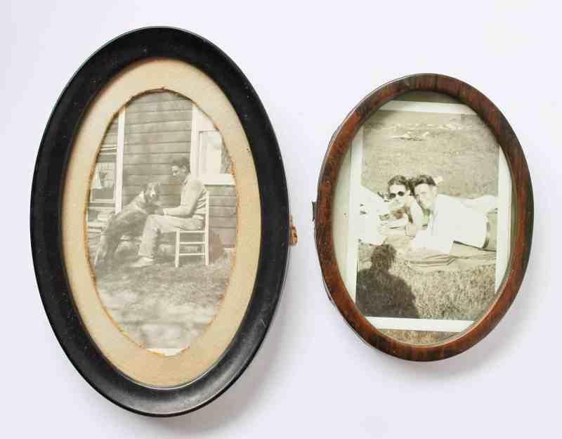 vintage metal frames