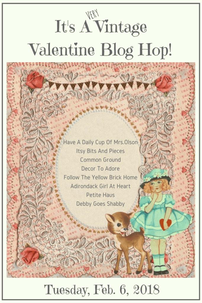 a vintage valentine blog hop