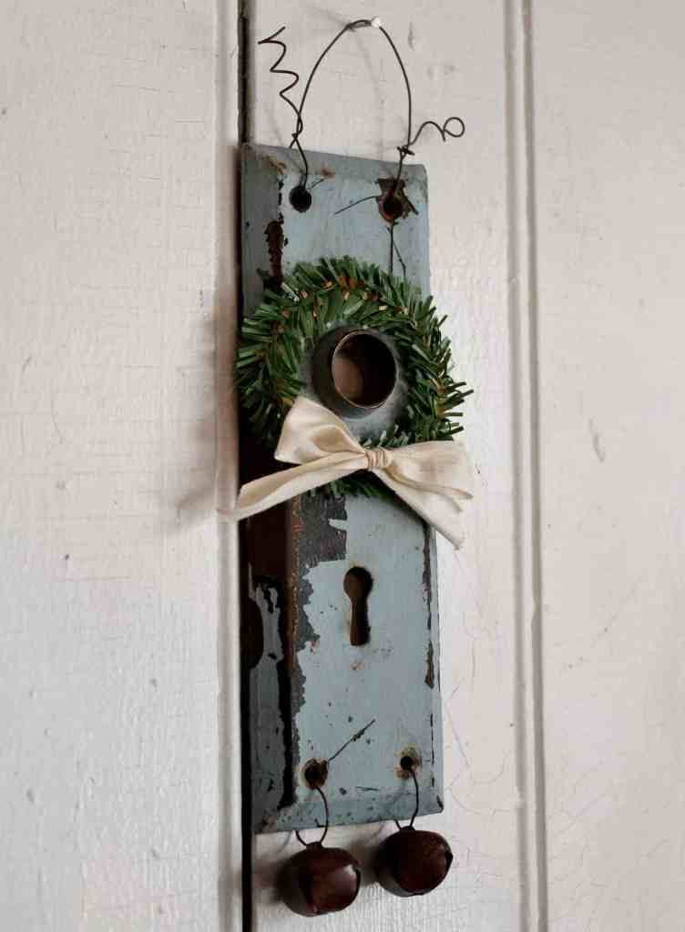 vintage door plate decoration