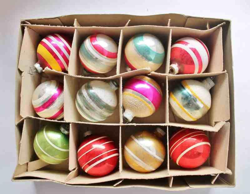shiny brite christmas ornaments