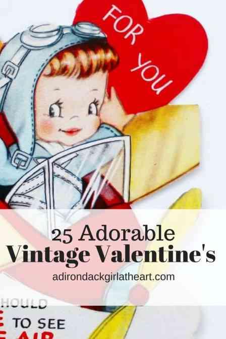 25 vintage valentines adirondackgirlatheart.com