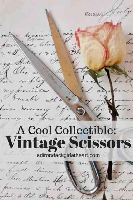 a cool collectible vintage scissors adirondackgirlatheart.com