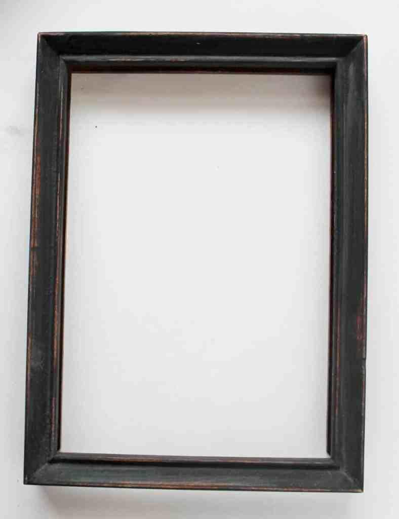 Painted vintage frame