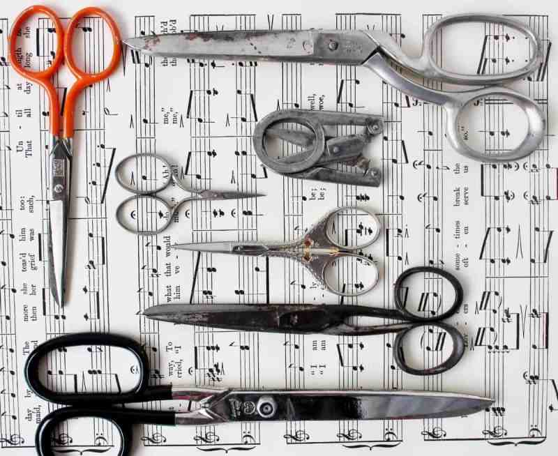 vintage german scissors