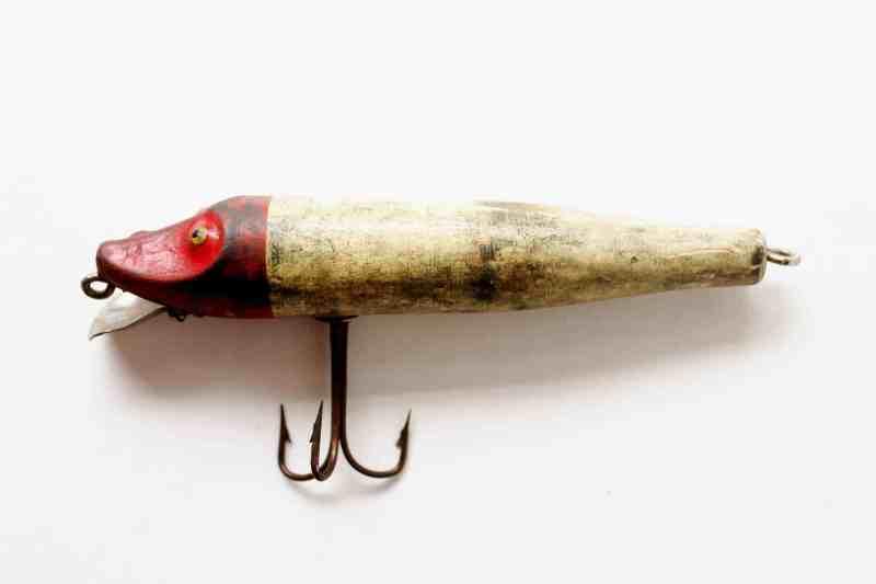 vintage wooden lure