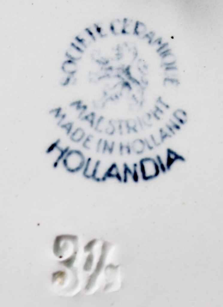 Societe Ceramique Maestricht Transferware mark