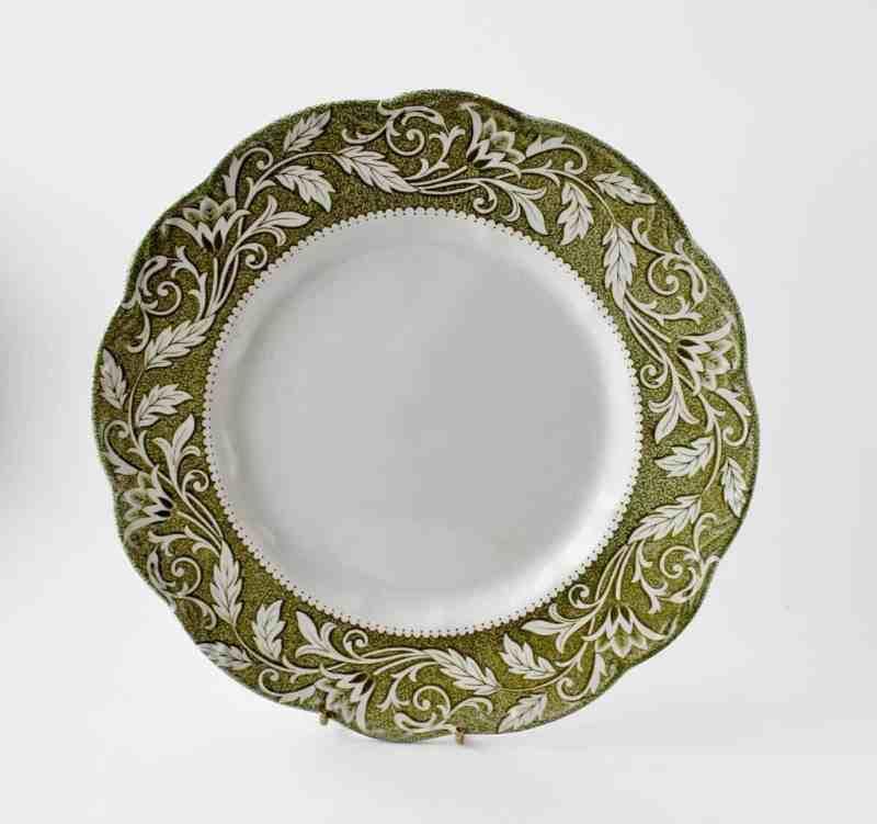 J & G Meaken transferware dinner plate
