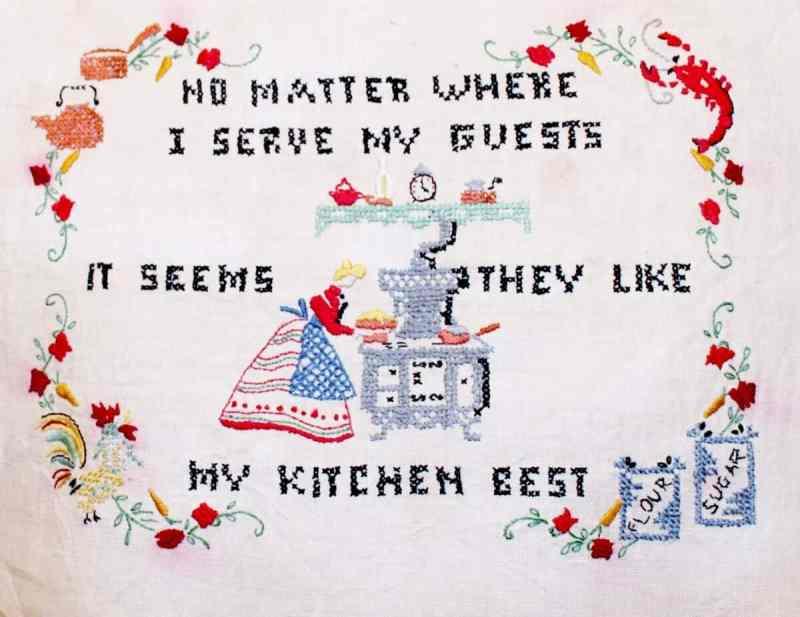 Vintage Cross Stitch No matter where I serve my friends (1200x926)