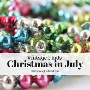 Christmas in July Vintage Finds