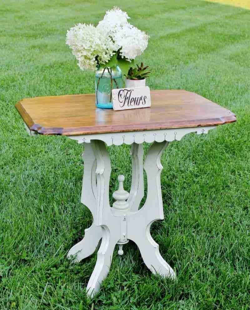 Vintage East Lake Side Table