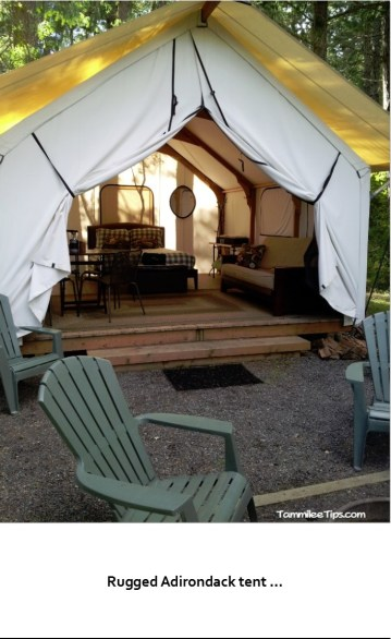tent with open