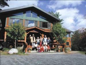 Lewi Lodge at Camp Chingachgook on Lake George
