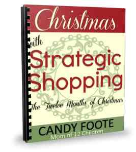 Strategic Shopping & Christmas with Strategic Shopping by Candy Foote Book Review