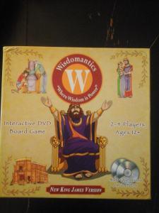 Wisdomatics Board & DVD Game Review  #wisdomatics