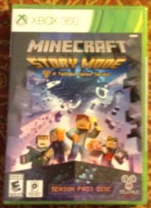 Minecraft Story Mode Xbox 360 Game Review