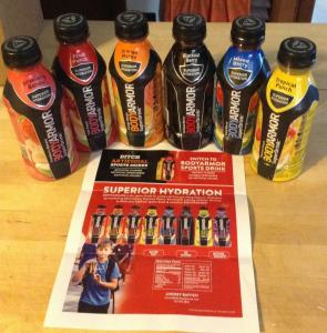 Hydrating with BODYARMOR SuperDrink