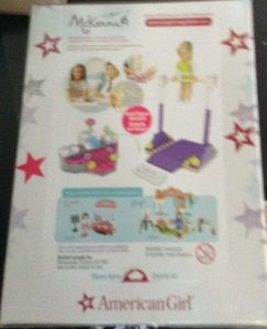 American Girl Review: McKenna's Gymnastics Training Mega Bloks Set!