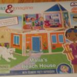 BUILD & IMAGINE MAGNETIC BUILDING AND STORYTELLING SETS – MALIA'S BEACH HOUSE #TOYS #REVIEW