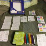 bible journaling kit review  #biblejournalingkit #flyby