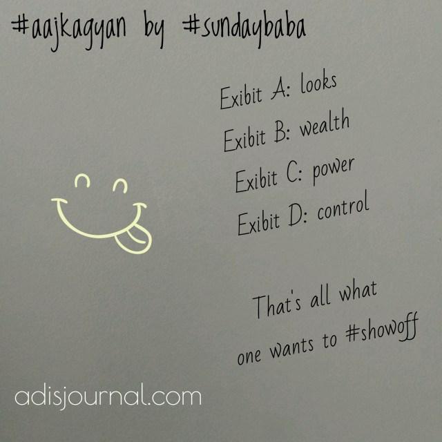 Aaj ka gyan by SundayBaba bhaag 1