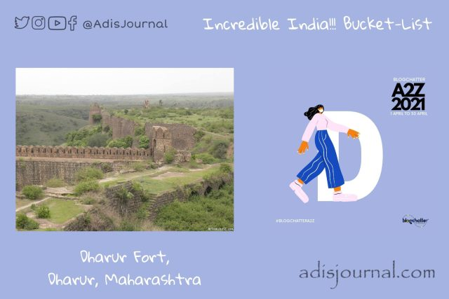 Dharur Fort: Gem from an unexplored area