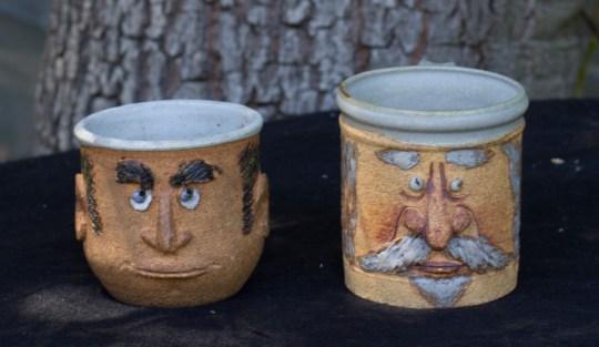Two of Betty's mugs.