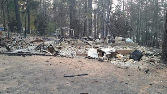 The House on Sunset Way after the Campfire