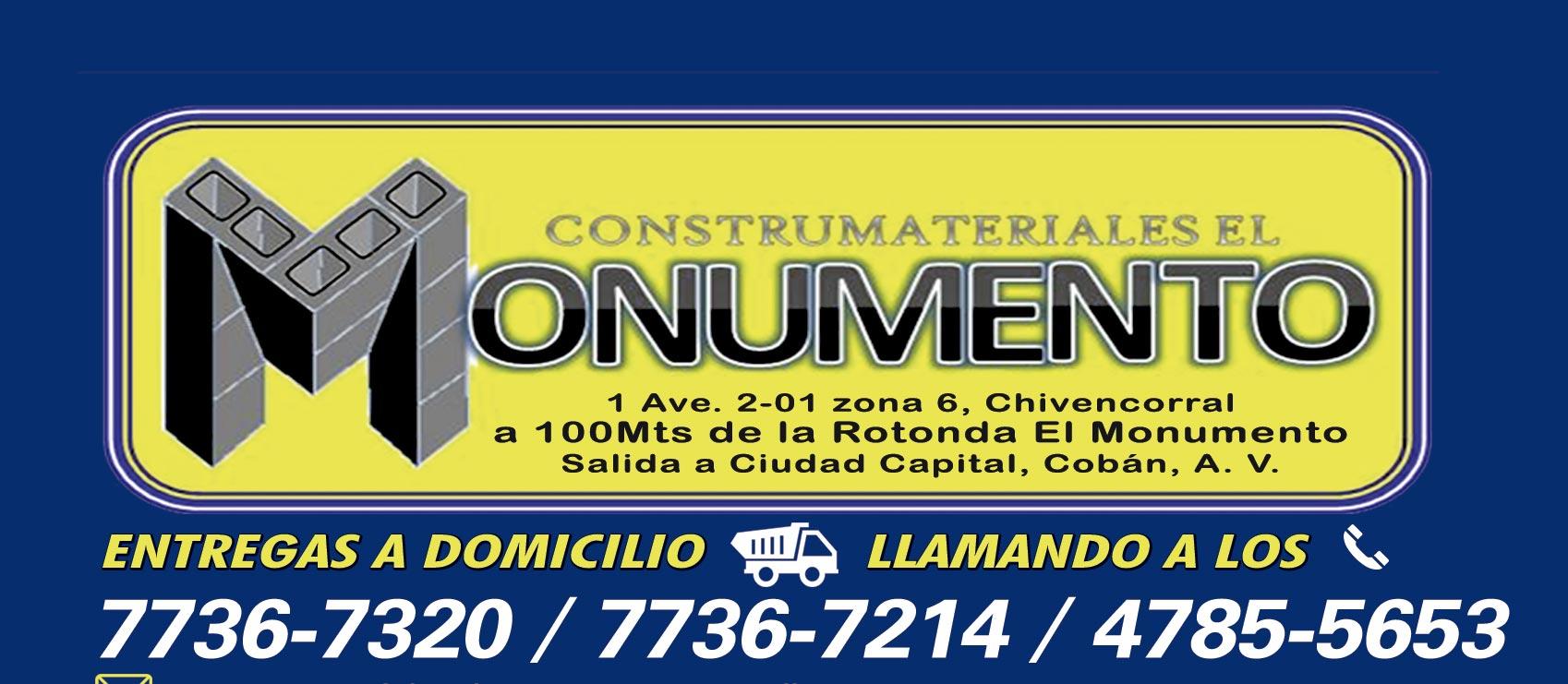Construmateriales EL MONUMENTO