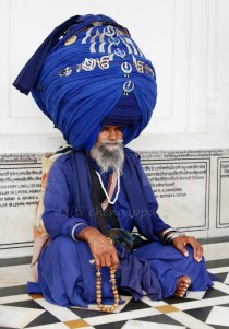 a saint in the Golden Temple, Amritsar