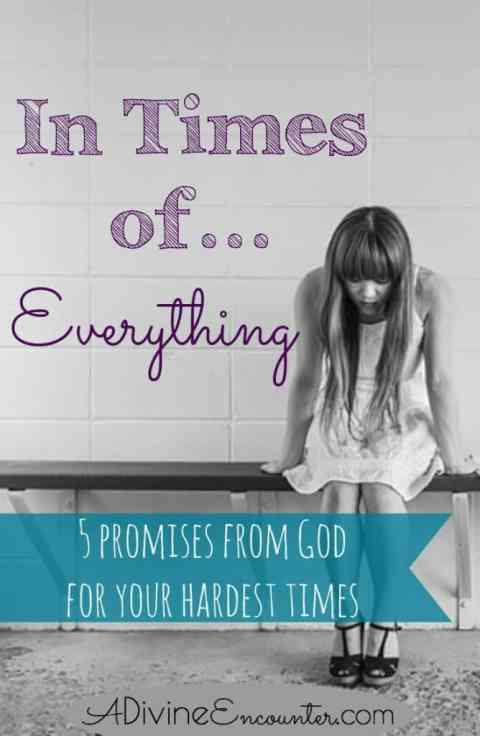 A must-read for Christians! Profound post considering five promises in Isaiah 41:10, assuring help from God in times of trouble.