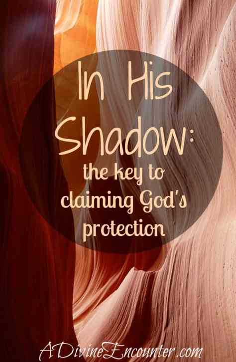 An insightful post considering what the Bible says about how Christians can experience God's protection. (Psalm 91:1-2) https://adivineencounter.com/in-his-shadow