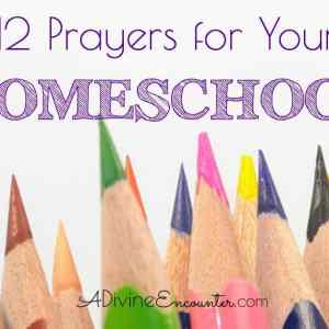 Praying the Scriptures: 12 Prayers for Homeschool
