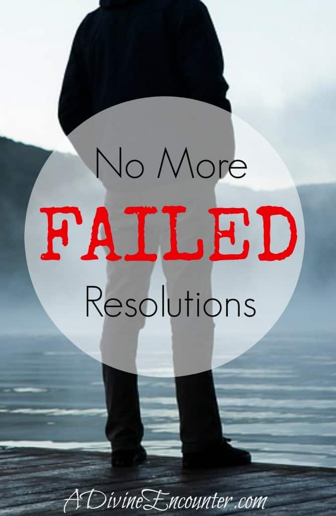 This thoughtful post considers the common issue of broken resolutions, and offers 4 critical aspects of true life change for Christians. https://adivineencounter.com/no-more-broken-resolutions