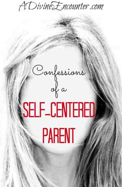 Honest post considers the experience of self-centered parents, and explores the solution for self-centered parents who also happen to be Christians. https://adivineencounter.com/confessions-of-a-self-centered-parent